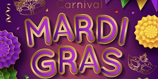 """Let the Good Times Roll"" as Mardi Gras at Tradition Square."