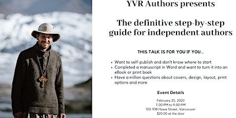 The definitive step-by-step guide for independent authors tickets
