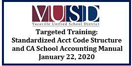 Standardized Account Code Structure and California School Accounting Manual