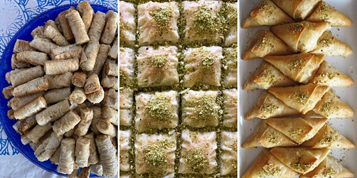 Fun with Fillo! Sanctuary Kitchen Syrian Desserts