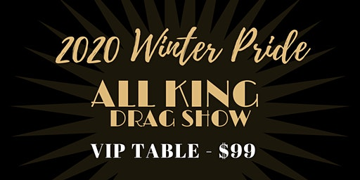 All King Show VIP Table for 4