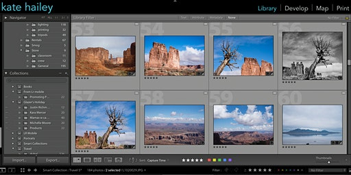 Getting Started in Adobe Lightroom Classic with Kate Hailey