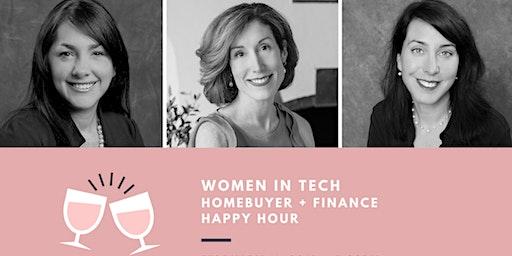 Women in Tech| Finance + Homebuyer Happy Hour