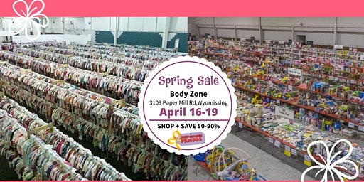 JBF Reading: Spring 2020 Public Sale (FREE)