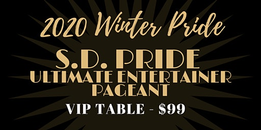 South Dakota Pride Ultimate Entertainer Pagaent VIP Table