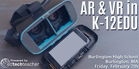 AR/VR (Burlington, MA)- February 7, 2020 tickets
