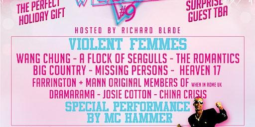 Violent Femmes, Wang Chung, Flock of Seagulls, The Romantics & more