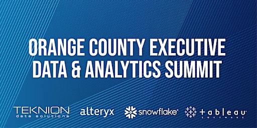 Orange County Executive Data & Analytics Summit