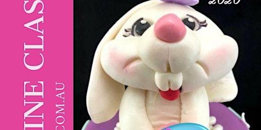 Easter Bunny Fondant Figurine Class