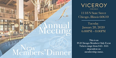 FGI Chicago Annual Meeting & New Members Dinner 2020 tickets