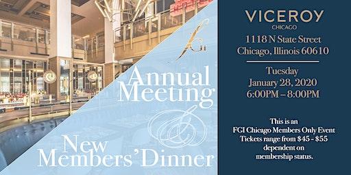 FGI Chicago Annual Meeting & New Members Dinner 2020