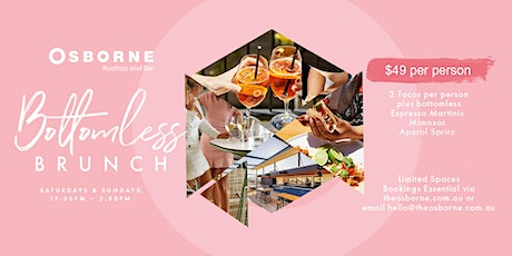 Bottomless Brunch on the Osborne Rooftop tickets