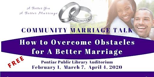 Community Marriage Talk