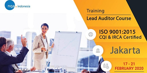 Lead Auditor Course ISO 9001:2015 - IRCA Registered - IDR 7.990.000,-