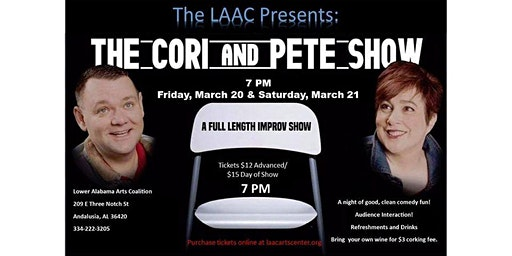 Improv Comedy Show with Cori & Pete