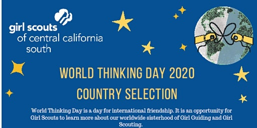 World Thinking Day - Country Selection Part 2