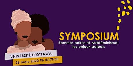 Symposium Afroféministe 2020 billets