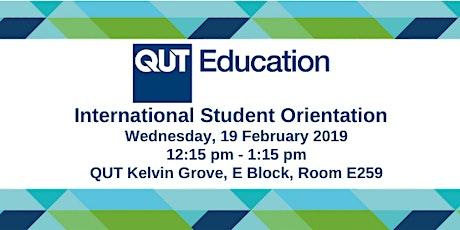 International Student Orientation tickets