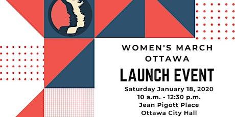 Women's March Ottawa 2020 Launch Event /l'événement de lancement tickets