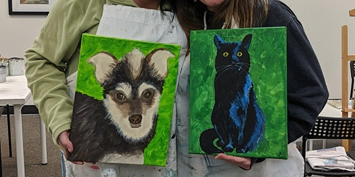 Paint Your Pet Sundays in February