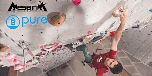 Pure in the Wild x Mesa Rim Indoor Climbing Adventure