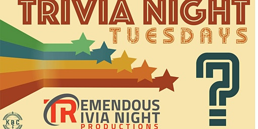 Tuesday Night Trivia at KBC Public House!