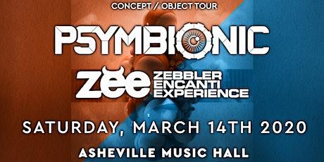 Psymbionic + Zebbler Encanti Experience | Asheville Music Hall tickets