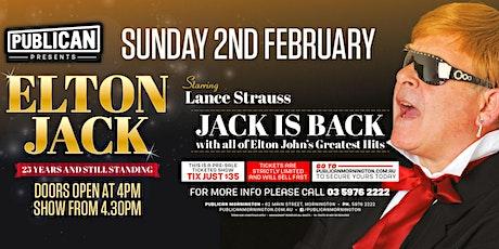 Elton Jack LIVE at Publican, Mornington! tickets