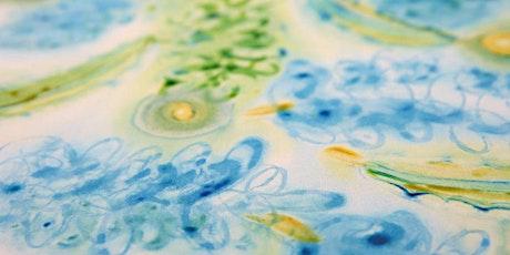 Hand Paint Fabric with Free Spirit Fabrics designer Denise Burkitt tickets