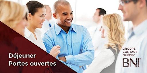 Portes ouvertes du 21 janvier 2020 du groupe d'affaires BNI Contact Québec