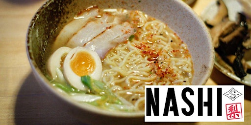 NASHI Ramen Pop-Up Kitchen at Slopeswell, February 20, 6-7pm