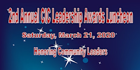 2020  CIC Leadership Award Luncheon and Community Book Fair tickets
