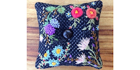 Reviving Vintage Skills - Creative Wool Embroidery tickets