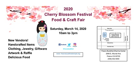 2020 Cherry Blossom Festival Food & Craft Fair tickets