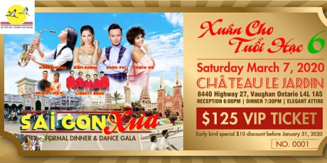 Gala Dinner and Dance : Saigon Xua tickets