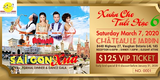 Gala Dinner and Dance : Saigon Xua
