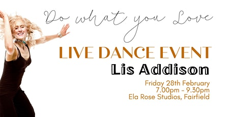 Live Dance Event with Lis Addison & Sophie Marsh tickets