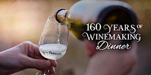 Tahbilk's 160 Years of Winemaking Dinner   Melbourne