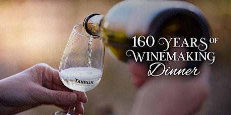 Tahbilk's 160 Years of Winemaking Dinner | Melbourne tickets