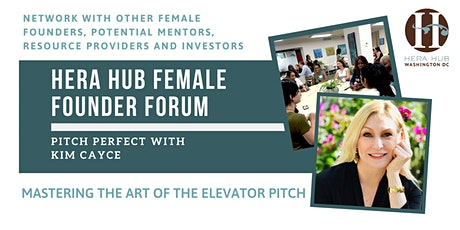 Hera Hub Female Founder Forum | Pitch Perfect with Kim Cayce tickets