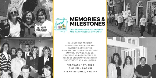 Memories and Milestones RSVP