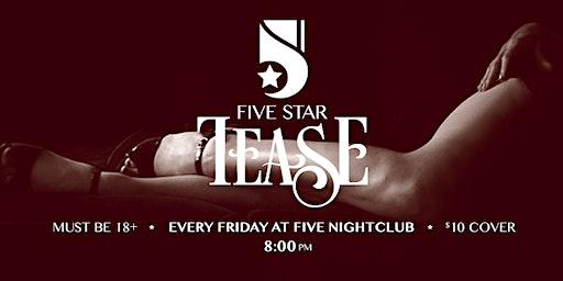 """Five Star Tease 1/24 """"Audition Night"""" with Belle Folle"""