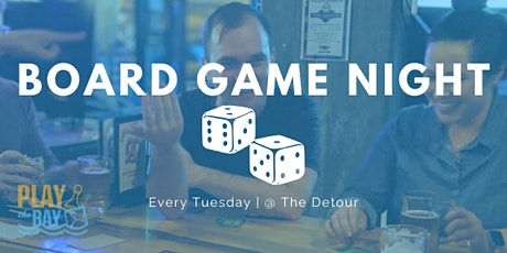 BOARD GAME NIGHT - Moved to Tuesday tickets