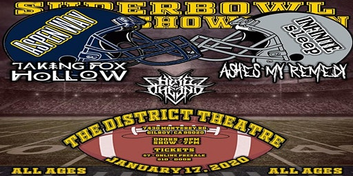 Superbowl Showdown at The District Theater feat. AW, IS, TFH, AMR & HATE
