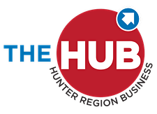 Hunter Region Business Hub logo
