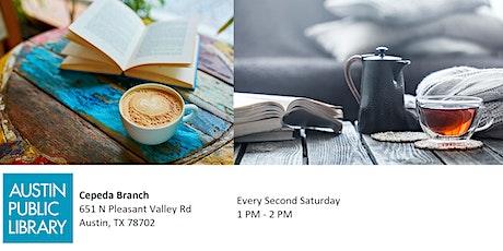 Café con Libros / Coffee with Books tickets
