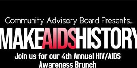 Make AIDS History: Eliminating the Stigma through Awareness Brunch tickets