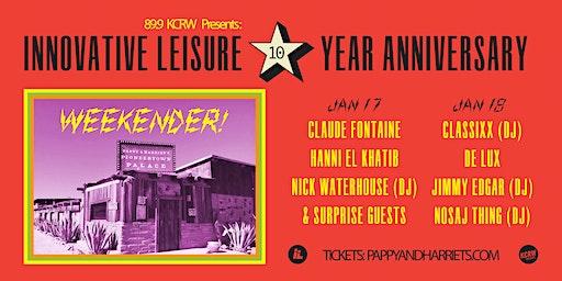 CLAUDE FONTAINE  HANNI EL KHATIB  NICK WATERHOUSE (DJ)  + SURPRISE GUESTS!