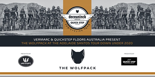 Meet The Wolfpack at the 2020 Santos Tour Down Under