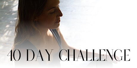 40 Day Challenge: Your Personal Revolution at HYA Cronulla tickets